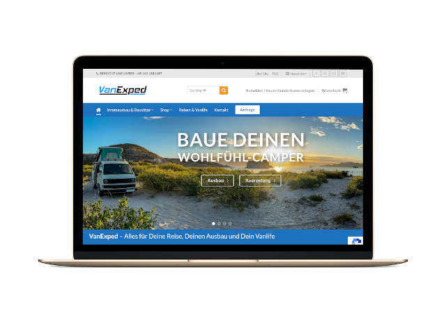 Projekt Online-Shop VanExped